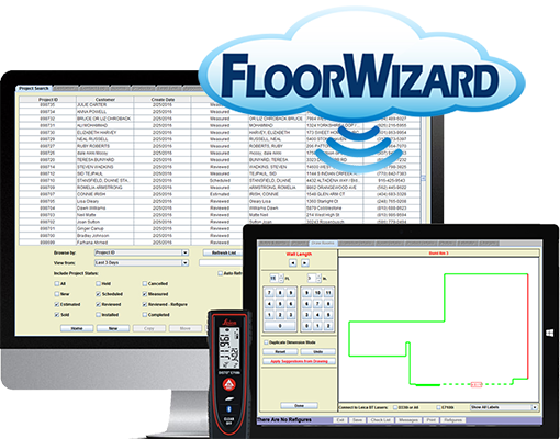 FloorWizard Flooring Estimation and Project Management Software